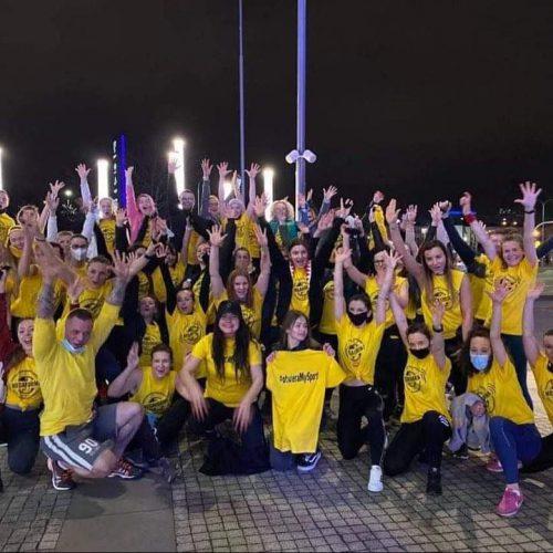 flash mob fitness poznań