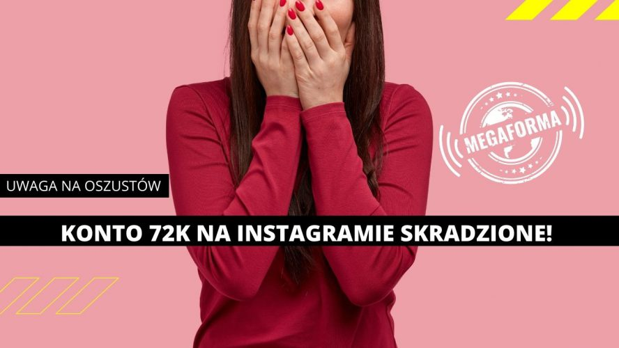 Natalia Gacka skradzione konto instagram