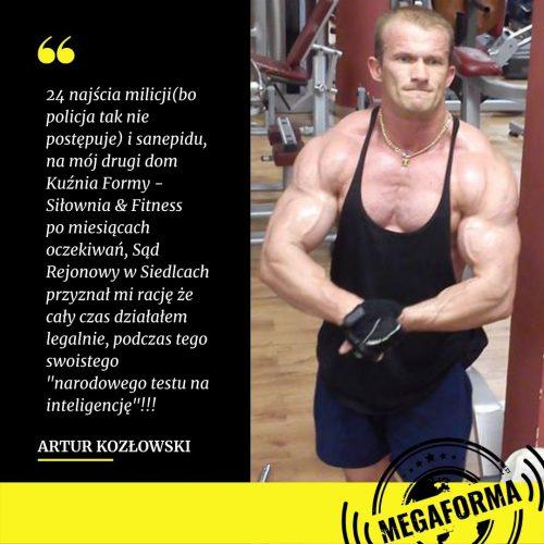 artur kozłowski wygrał